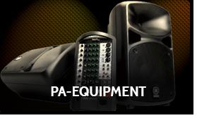 PA-Equipment